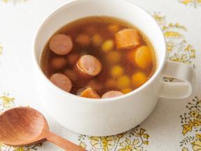 豆のジンジャースープ