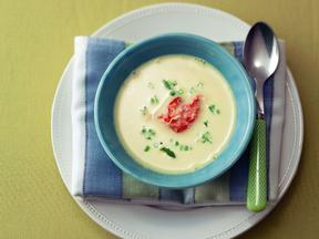 かぶと白みそのみぞれスープ