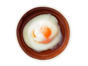 熱湯で作る温泉卵