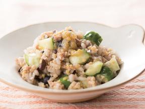 雑穀とツナのサラダ