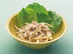 納豆ごぼうサラダ
