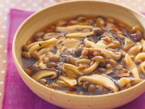 きのこと納豆のうま煮