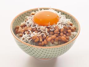 卵しらすごはん