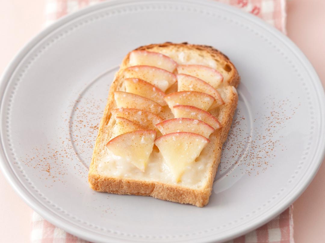簡単! アップルシナモントースト