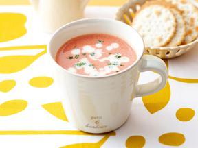 トマトソイミルクスープ