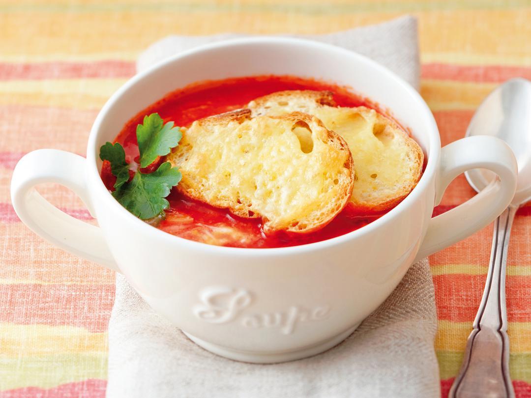 トマト de アホスープ