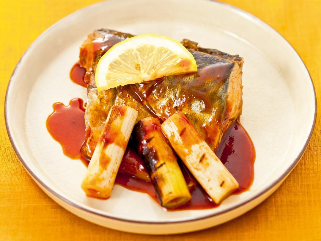 鯖の韓国風レモン味噌煮
