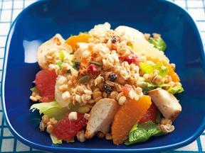フルーツ&バゲットのフルグラサラダ